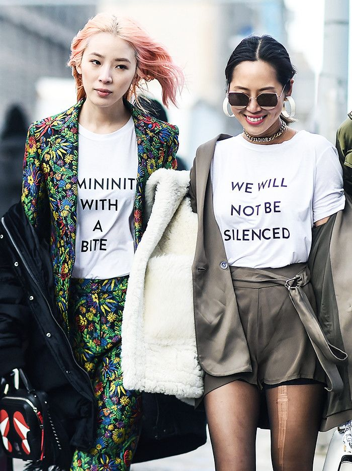 Empowering message tee